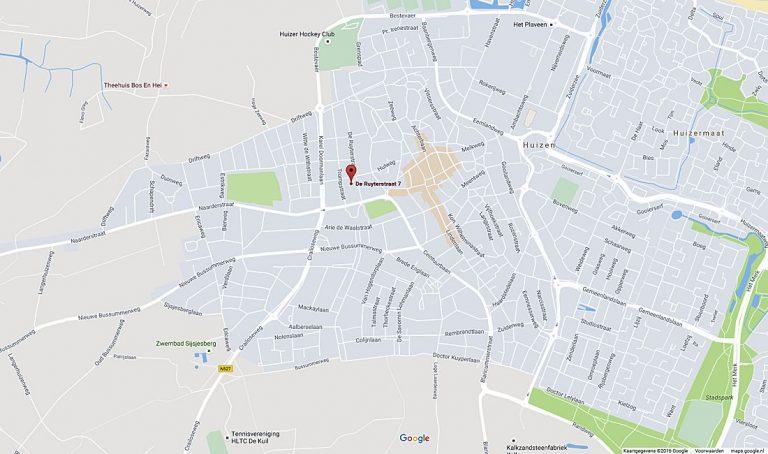 Kaart Huizen