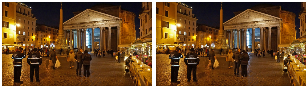 Rome bij avond